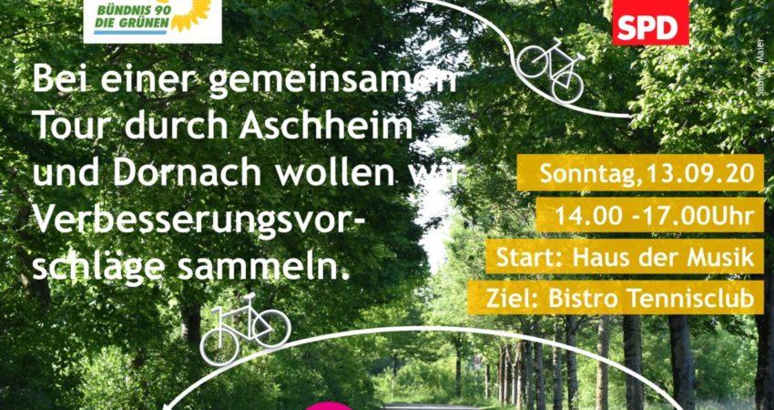 Radltour - 13. September 2020 - Aschheim und Dornach