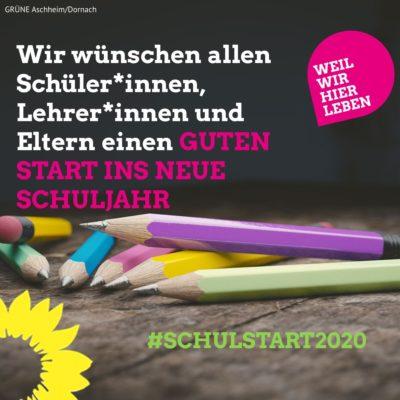 Aschheim Schulstart 2020